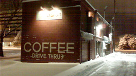 Coffee drive thru