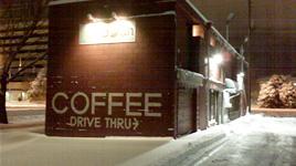 Coffee drive thru